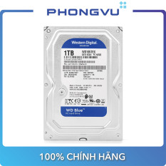 Ổ cứng HDD WD Blue 1TB SATA3 7200rpm (WD10EZEX) – Bảo hành