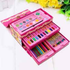 Hộp bút 54 màu cho bé thỏa sức sáng tạo, có quai xách tiện lợi