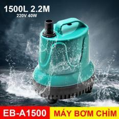 Máy Bơm Chìm Hồ Cá Hòn Non Bộ 220V 1500L EB-A1500