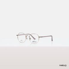 Gọng kính kim loại nam nữ mắt tròn FARELLO, nhẹ nhàng thanh mảnh, đa dạng màu sắc, mắt kính to có thể chống bụi, phù hợp với nhiều khuôn mặt, một size NEKO – 8701