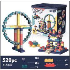 Bộ Lego Lắp Ráp Gồm 520 Chi Tiết. Lego Xép Hình Đồ Chơi Cho Bé BUILDING BLOCK