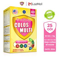 Sữa bột Colosmulti A0 tăng sức đề kháng cho trẻ hộp 25 gói x 14g