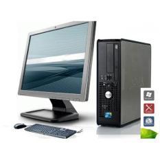Bộ máy tính để bàn DELL NHẬP KHẨU TRỌN BỘ CẢ MÀN HÌNH 17 inch NÂNG CẤP Chip Intel® Core™2 Duo bán số lượng cho các dự án Văn Phòng làm việc, trường học…lướt Web chạy siêu mượt Office, Autocad, Photoshop…KM USB WIFI VÀO MẠNG KHÔNG DÂY