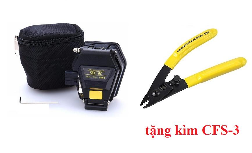 Dao cắt sợi quang SKL 6C (Tặng Kìm tuốt dây quang chất lượng cao CFS-3)