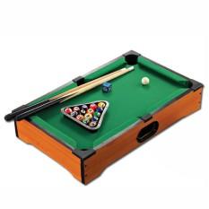Bàn chơi bi A MINI – Bàn Bi a 6 lỗ – Đồ chơi Bi a trẻ nhỏ – Bàn Bi a Mini bằng gỗ cao cấp cho trẻ em 31×51.5x9cm BẢO HÀNH 12 THÁNG