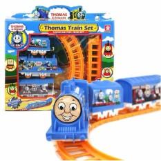 Mô hình đồ chơi đường ray xe lửa tàu hỏa Thomas chạy pin