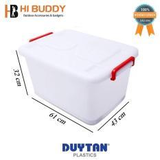 Thùng Nhựa Duy Tân Có Bánh Xe 55 Lít (61 x 43 x 32 cm) No.748