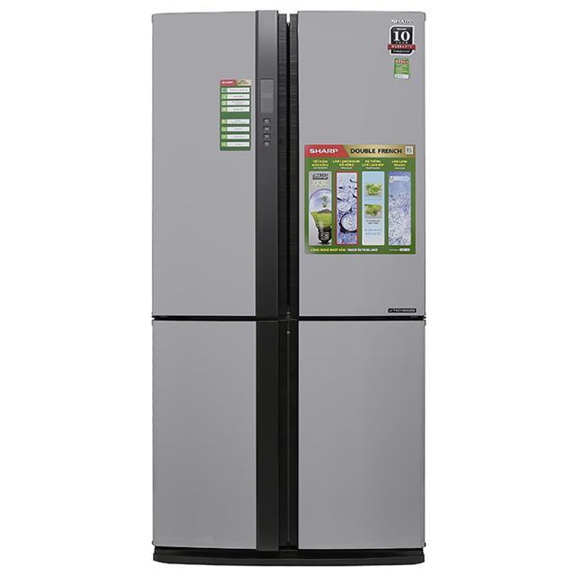 Tủ lạnh Sharp Inverter 626 lít SJ-FX630V-ST/BE