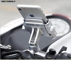 Giá đỡ điện thoại xe máy, kẹp điện thoại xe máy hợp kim chắc chắn, chống rung, chống giựt