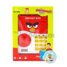 Đồ chơi ống heo két sắt mini thông minh có mật mã mô hình nhân vật phim hoạt hình dùng pin cho bé – Thị trấn đồ chơi