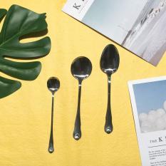 Bộ 3 muỗng canh, soup, cafe inox 304 cao cấp MUI04 – Dụng cụ ăn