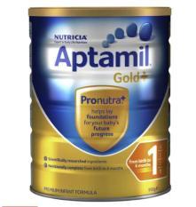 SỈ LẺ-(Date xa 2021) Aptamil gold số 1 và 2 900gr