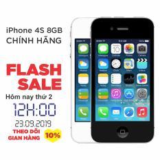 Điện thoại Apple iPhone 4s – 8GB – Bản QUỐC TẾ – Đổi trả miễn phí tại nhà – Yên tâm mua sắm với Mr Cầu (Điện thoại giá rẻ, điện thoại smartphone)