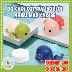 [HCM]Đồ chơi nhà tắm – rùa bơi dưới nước vặn cót nhựa an toàn cho bé – Thị trấn đồ chơi