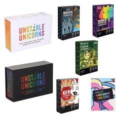Combo bài Kỳ Lân Unstable Unicorns + 5 bộ mở rộng (Uncut Dragon Rainbow NSFW Legend)