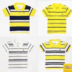 Combo 3 áo thun bé trai gái 10-45kg – áo polo bé trai xuất khẩu áo bé trai có cổ (nhiều màu)
