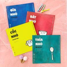 Full bộ Đồ Vật – Sách Ehon Nhật Bản cho bé 0-6 tuổi