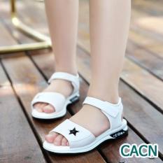Sandal bé gái dép đi học xinh xắn dễ thương êm chân
