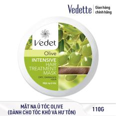 Mặt nạ ủ tóc Olive Vedette Intensive Hair Treatment Mask – Dry & Damaged Hair – Olive 110g (dạng hủ)