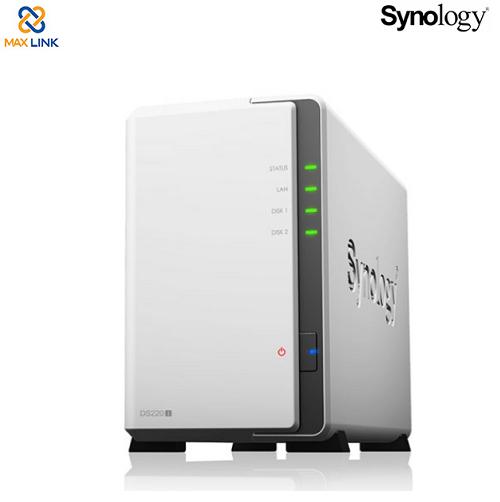 Thiết bị lưu trữ mạng Synology NAS DS220J
