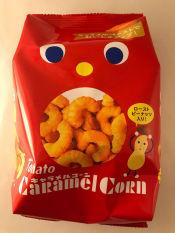 Bánh Bắp Caramel Tohato kèm đậu
