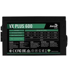 NGUỒN AEROCOOL VX PLUS 600W CÔNG SUẤT THỰC