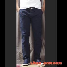 Quần kaki dài nam màu xanh than – Quần kaki dài nam 2018-01