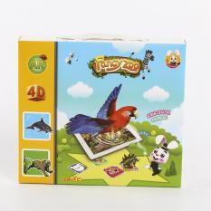 Thẻ học tiếng Anh 3D neobear Pocket Zoo (Fancy zoo)