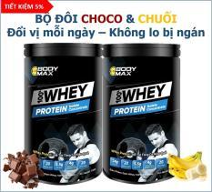 Whey Protein BODY MAX – COMBO HOP CHOCO & CHUỐI