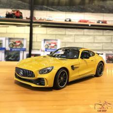 Mô hình xe ô tô Mercedes AMG GT Welly FX tỉ lệ 1:24 màu vàng