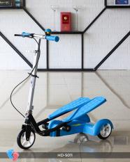 Xe trượt Scooter 3 bánh có bàn đạp tải trọng cao Broller BABY PLAZA LZ-011