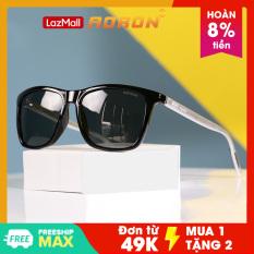 Kính râm, kính râm nam nữ, kính râm thời trang mắt vuông gọng kim loại, mắt kính mát phân cực chống lóa chói trầy xước, kính râm thời trang unisex chính hãng AORON – AK010
