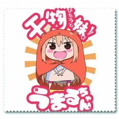 Khăn lau kính IN HÌNH Himouto! Umaru-chan Cô em gái hai mặt anime chibi quà tặng xinh xắn dễ thương