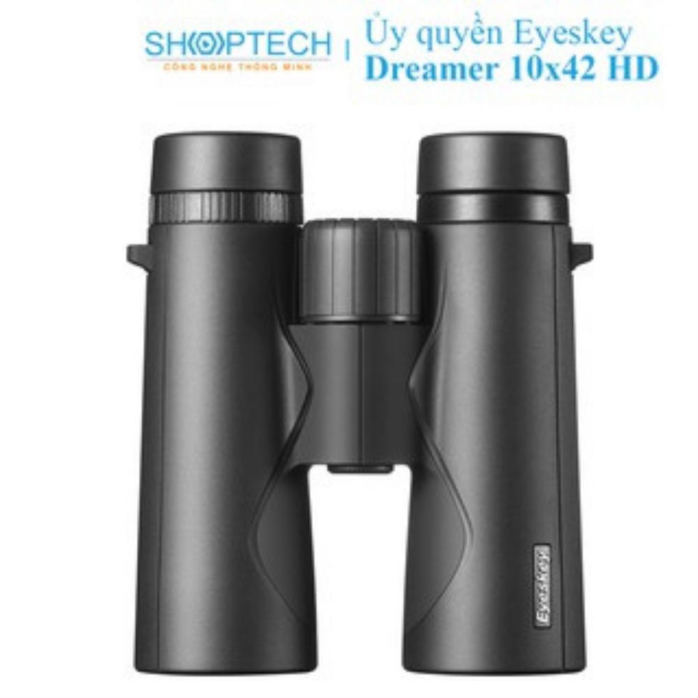 Ống nhòm cao cấp 2 mắt Eyeskey 10×42 HD chính hãng quân sự Dreamer mini giá rẻ chuyên dụng săn ong du lịch