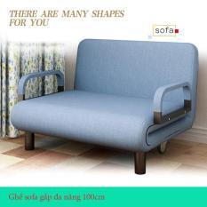 [ HÀNG LOẠI I ] Ghế sofa giường gấp đa năng cao cấp 100cm