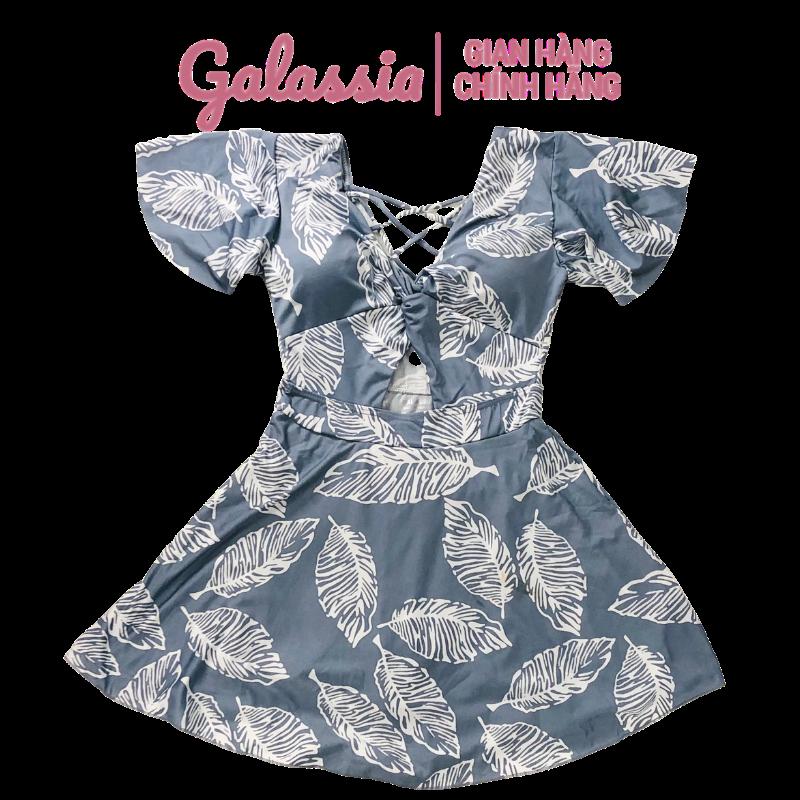 Đồ bơi nữ kín đáo váy đi biển đồ bơi 1 mảnh GALASSIA