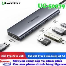 Hub USB Type C 3 cổng USB hãng UGREEN UG-50979