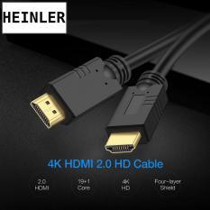 Cáp tín hiệu hai đầu đực HDMI Heinler CAB-100 chiều dài 1.5m hỗ trợ hình ảnh 3D chuẩn 4K cho nhu cầu xem phim, nghe nhạc, trình chiếu, thiết kế (Đen)