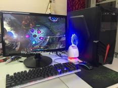 [MÁY MỚI] Bộ máy tính để bàn chơi Game giá rẻ, cf, lol, pubg mobi… linh kiện đời cao Chip intel i3 thế hệ 4, 22nm Haswell H81 (Trọn bộ thùng máy+ màn 20 inch + phím chuột)