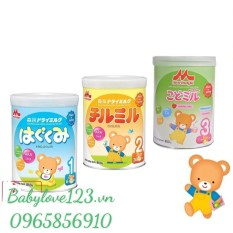 (DATE 2022)Sữa Morinaga Số 1 – Số 2 – Số 3 850G Hàng Nhật Nhập Khẩu Chình Hảng (Không Quà)