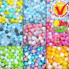 Bóng nhựa cho bé học màu sắc 1 Quả banh nhựa Việt Nam Cao cấp được trọn màu giá dùng thử an toàn bền