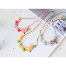Vòng dây đeo cổ hạt tròn xinh xắn KTB010 pinkxinhdecor