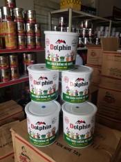 Sơn chậu kiểng láng mịn hệ nước DOLPHIN (Lon 1kg) – Tặng kèm cọ
