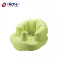 Ghế Hơi Tập Ngồi Richell RC98010 Cho Bé- Chất liệu nhựa Vinyl cao cấp, trơn mịn- Hàng Chính Hãng