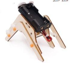 Bộ đồ chơi khoa học robot tự động con sâu bằng gỗ – DIY Wood Steam đồ chơi gỗ lắp ráp giúp trẻ khéo léo, sáng tạo