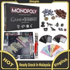 Monopoly – Game Of Thrones Board Games Phiên Bản Bộ Sưu Tập Tiếng Anh Trò Chơi Bạn Bè Tiệc Tùng
