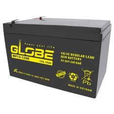Ắc Quy Khô Globe WP12-7.5 12V 7.5Ah Dùng Cho Xe Điện – UPS – Lưu Điện Cửa Cuốn