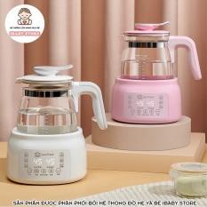 [TẶNG KHAY HÂM SỮA] Máy Hâm Nước Pha Sữa PAUL FRANK Điều Chỉnh Nhiệt Độ Thông Minh, Khử Clo Nước, Tiệt Trùng Bình Sữa