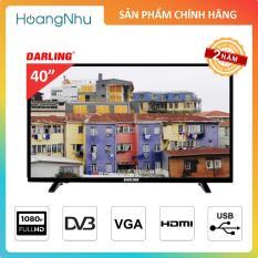 TV LED Darling 40 inch 40HD957-T2 Full HD Tích hợp truyền hình KTS