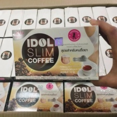 Cafe IdolSlim Cải Thiện Vóc Dáng Hiệu Quả ( Hộp 10 gói X 15g )